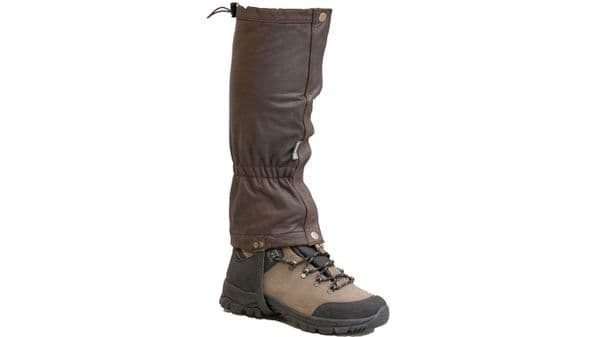 Bisley Leather Gaiters - Brown