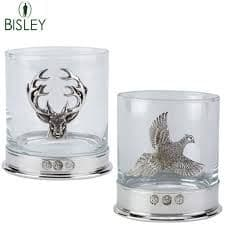Bisley Whiskey Glass - Stag or Pheasant