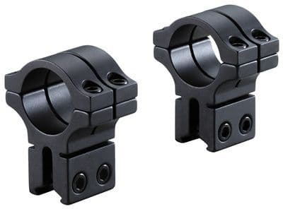 """BKL-263H 1"""" Long Double Strap Dovetail Rings High"""