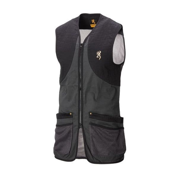Browning Shooting Vest - Classic Anthracite