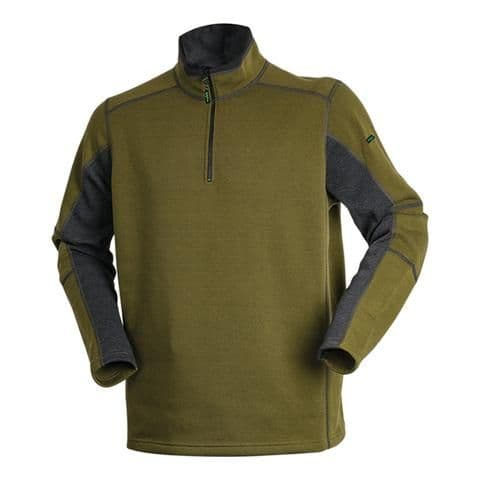 Ridgeline Trail Top - Olive and Gray
