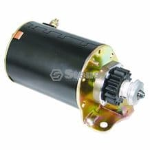 BRIGGS AND STRATTON ELECTRIC STARTER MOTOR FITS SOME JOHN DEERE MODELS REPLACES 497595