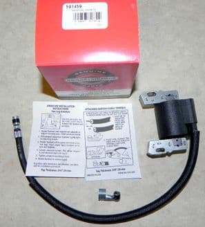 Genuine Briggs and Stratton Armature Magneto Ignition Coil Unit Part Numbers Used 591459 & 492341