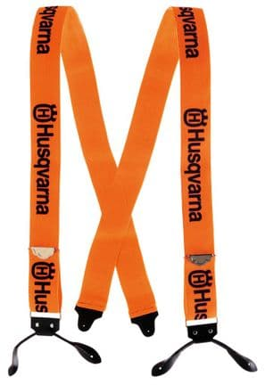 Husqvarna Button Style Trousers Braces Part Number 505618510 - Prices Include Vat