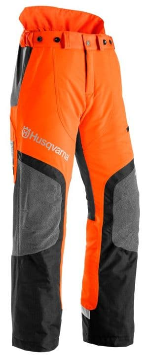 Husqvarna Technical Waist Design Type C Arborist Chainsaw Trousers Part Number 5803446xx Includes Vat & Free UK Shipping