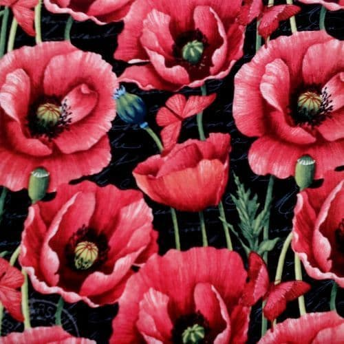 Scatter Poppies