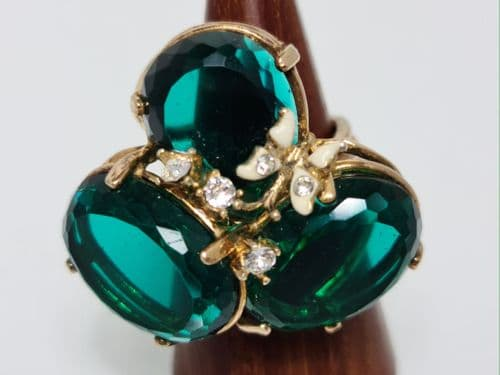Ria Green Cocktail Ring