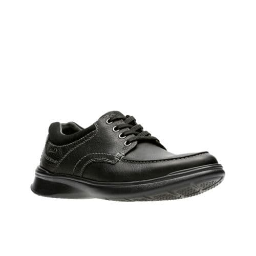 Clarks 'Cotrell Edge' Men's  Shoes - Black Oily Leather G