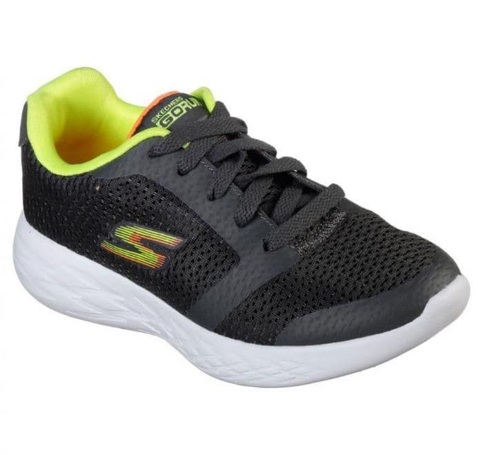 Skechers 'ZEETON' Boys Trainers - Charcoal