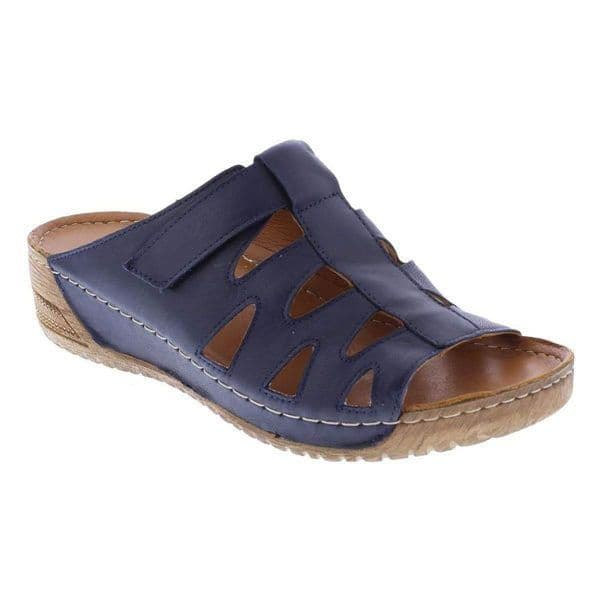 Adesso Francis Women's Mule Sandals - Navy