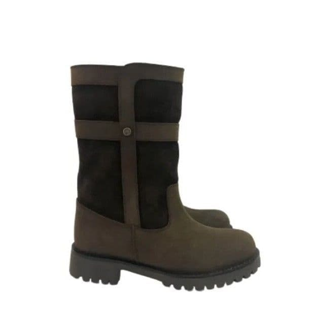 Cabotswood Women's Country Boots - Henley Oak/Chocolate
