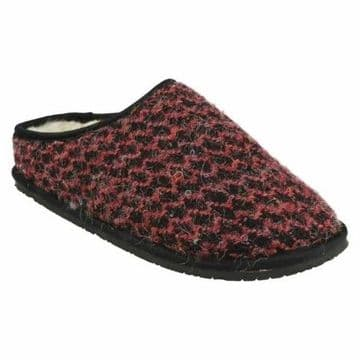 Clarks 'Adella Alpine' Women's Slippers - Pink Fabric D
