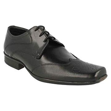 Clarks 'Affix Moscow' Men's Smart/Formal Shoes - Black Leather G