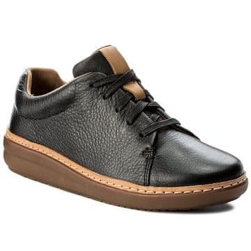 Clarks 'Amberlee Crest' Women's Casual Shoes - Black Leather D