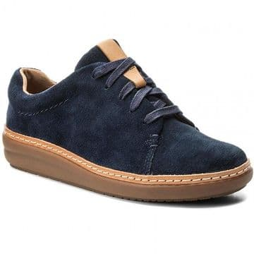 Clarks 'Amberlee Crest' Women's Casual Shoes - Navy D