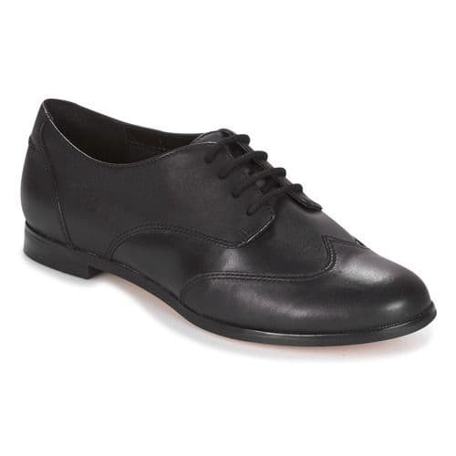 Clarks 'Andora Trick' Women's Lace-up Smart Shoe - Black Leather D
