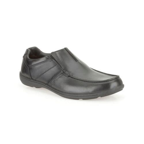 Clarks 'Bradley Fall' Slip-on Shoe - Black Leather G