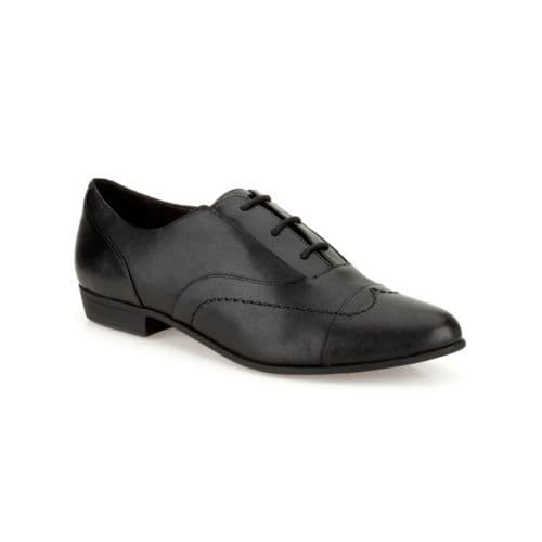 Clarks 'Dawson Reel' Women's Smart Shoe - Black Leather D