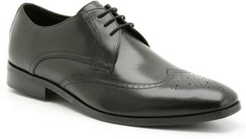 Clarks 'Enter Office' Men's Smart/Formal Shoe - Black Leather G