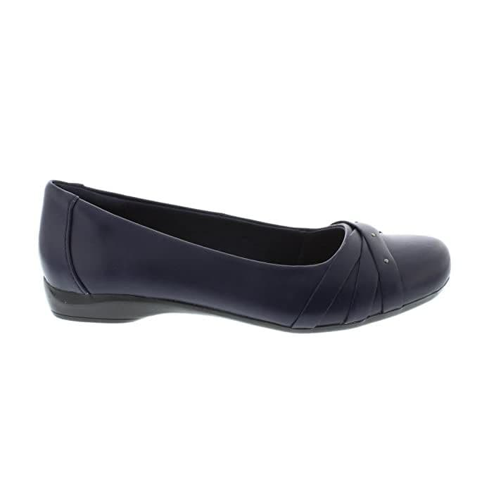 Clarks 'Kinzie Nadia' Women's Pump Shoes - Navy Leather D