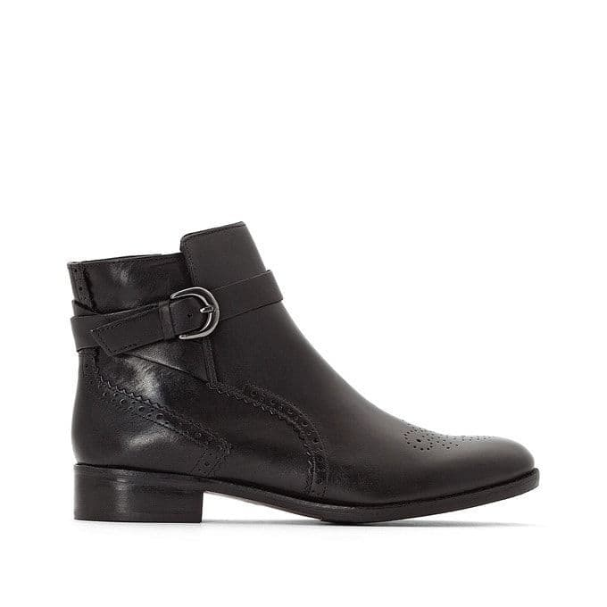 Clarks 'Netley Olivia' Women's Ankle Boots - Black Leather D