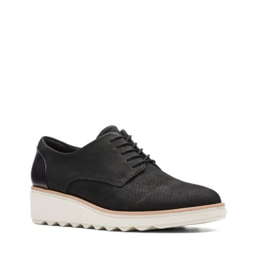 Clarks 'Sharon Crystal' Women's Lace-up shoes - Black D