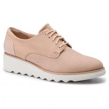 Clarks 'Sharon Crystal' Women's Lace-up shoes - Blush D