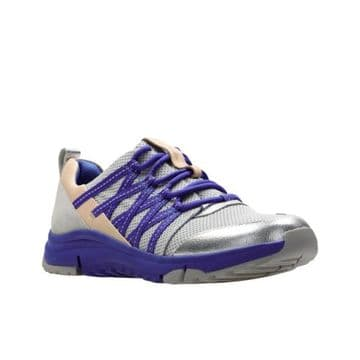 Clarks 'Tri Trail' Women's Trekker Shoes - Cobalt Combination D