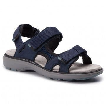 Clarks 'Un Roam Step' Women's Active Sandals - Navy D
