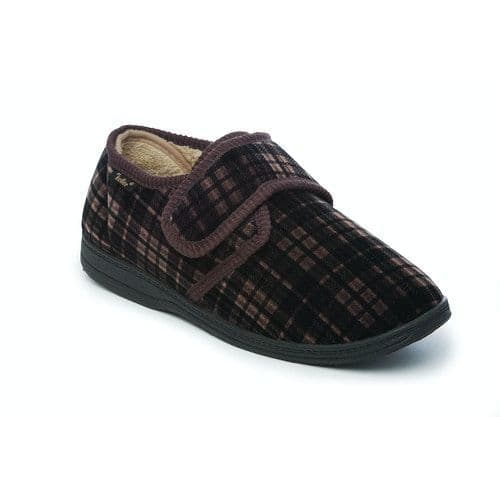 Dr Keller Mens Full Slippers - Dr Don Brown