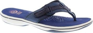 Earth Spirit 'Eloy' Women's Flip-Flop/Sandal - Admiral Blue