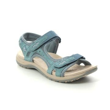 Earth Spirit 'Frisco' Women's Walking Sandal - Moroccan Blue