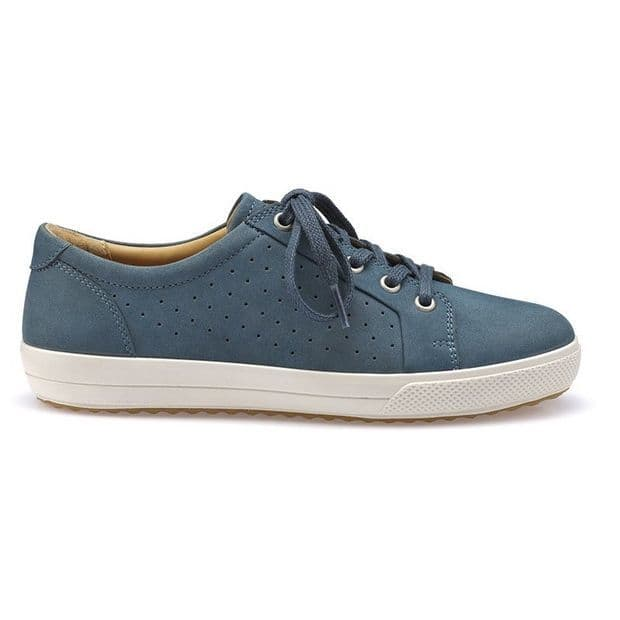 Hotter 'Brooke' Women's Lace-Up Casual Shoe - Blue River STD