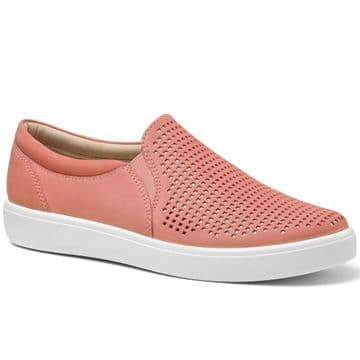 Hotter 'Daisy' Women's Slip-on Shoe - Coral