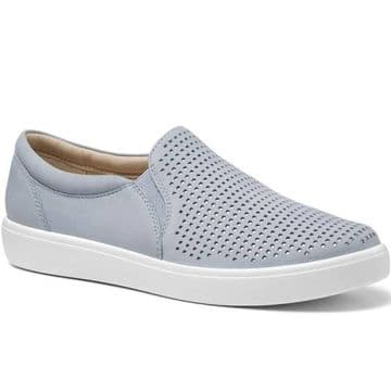 Hotter 'Daisy' Women's Slip-on Shoe - Sky
