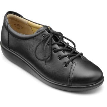 Hotter 'Dew' Women's Lace Shoe - Black EXF