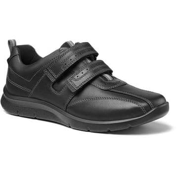 Hotter 'Energise' Men's Shoe - Black Leather