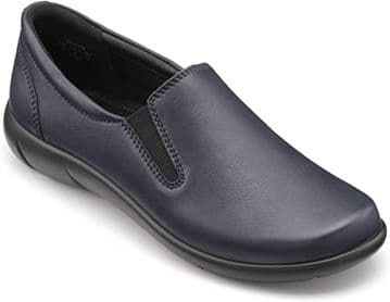 Hotter 'Glove' Women's Slip-on Shoe - Navy