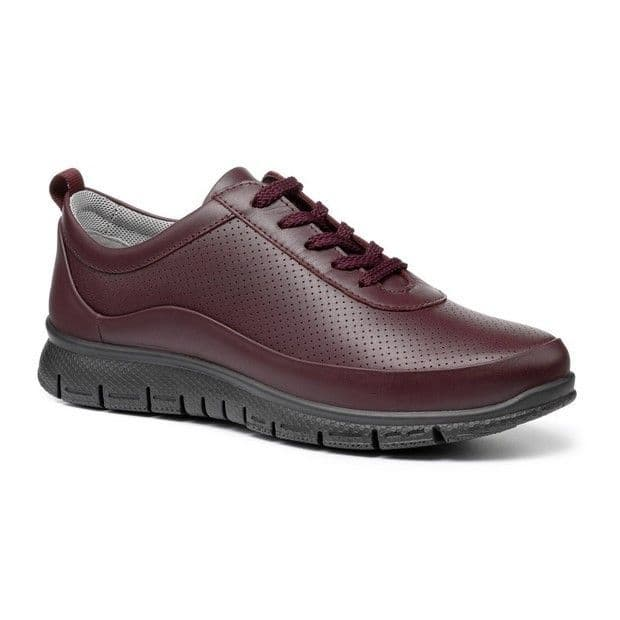 Hotter 'Gravity' Women's Active Comfort Shoes - Wine STD
