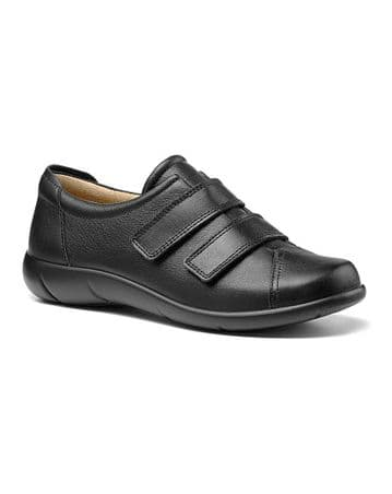 Hotter 'Leap' Women's Touch Close Shoes - Black EXF