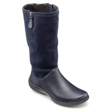 Hotter 'Matilda' Women's Calf Boots - Navy STD