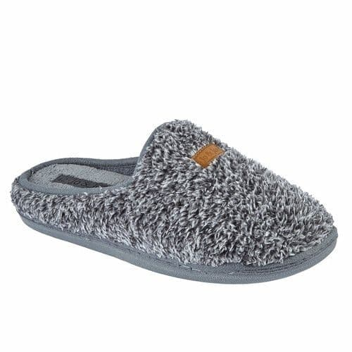 Jo & Joe 'Bordello' Men's Slippers - Grey