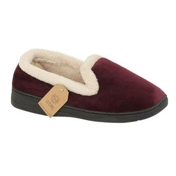 Jo & Joe 'Cashmere' Women's Slippers - Burgundy