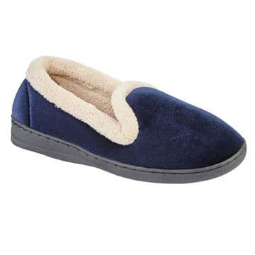 Jo & Joe 'Cashmere' Women's Slippers - Navy