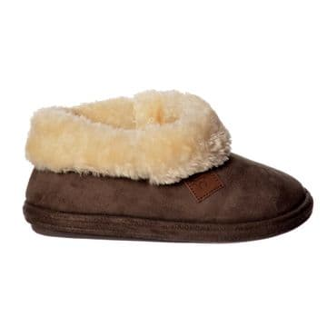 Jo & Joe 'Chiltern' Women's Slipper - Dark Brown