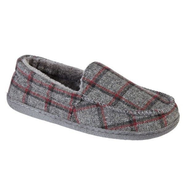 Jo & Joe 'Glentaise' Men's Slippers - Grey