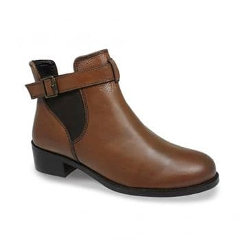 Lunar 'Barbara' Women's Ankle Boots - Brown