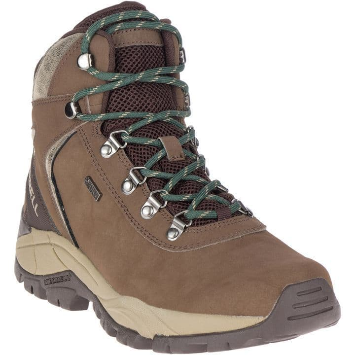 Merrell Men's Waterproof Walking Boot - Kivu Mid Brown