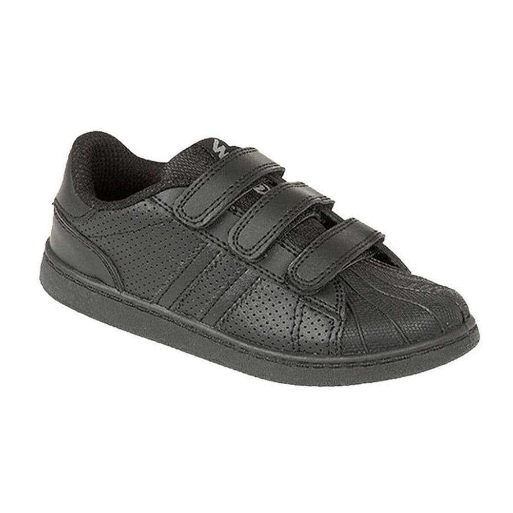 MX2 'Spin' Kids Trainers - Black
