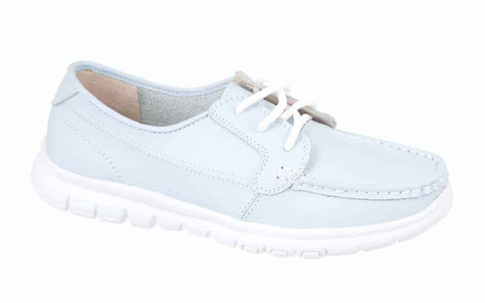 Northwest Territory 'Verity' Women's Leather Casual Formal Comfort Shoes - Light Blue